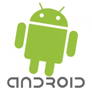 Android Logo Leaning